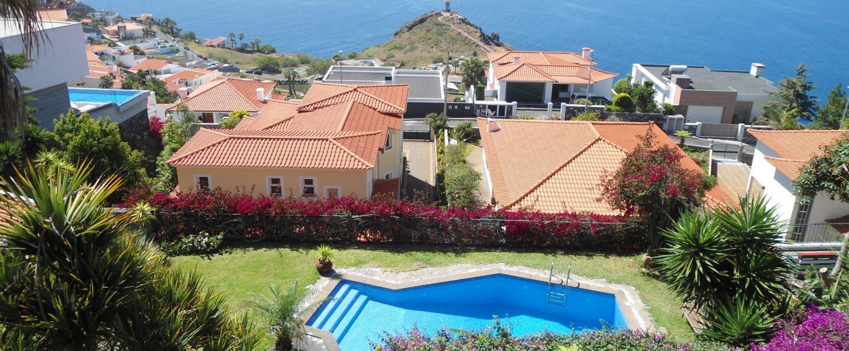 Vuokraa huvila villa madeira portugali ranta puhdas ilma puhtaus aurinko lämmin