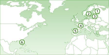 Vuokraa huvila kartta